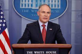 epa u0027s scott pruitt announces repeal of clean power plan on point