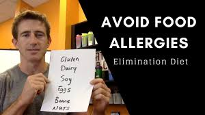 avoid food allergies how to do an elimination diet youtube