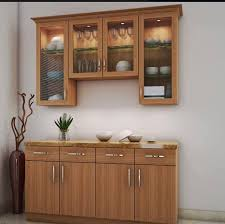 Crockery Wall Cabinet Design