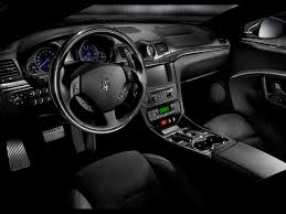 blue maserati interior maserati granturismo review and photos