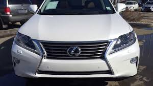 lexus awd technology 2014 lexus rx 350 awd technology package review in white youtube