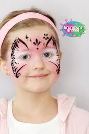 Face Paint Spray - tiara with background face paint design unique face paint