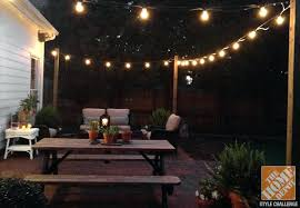 Hanging Patio Lights String Looking Outdoor Patio Lighting Outdoor Patio Light Ideas For