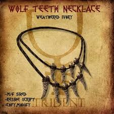 wolf tooth necklace images Second life marketplace wolf teeth necklace jpg