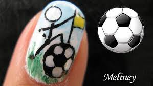 fifa world cup soccer football sports nails nail art design
