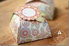 pretty designer paper box templates
