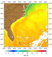 temperature map of florida the florida current