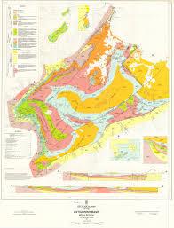 Map Me Geological Map Of The Antigonish Basin Novascotia Ca