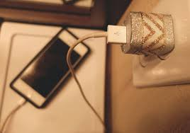 diy phone charger candace mae quick easy diy decorated phone charger