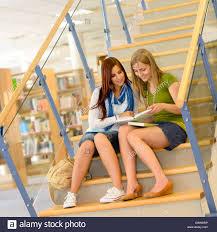 classmate search two friends talking school stock photos two friends talking