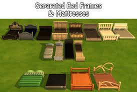 4 Bed Frame The Sims 4 Separated Bed Frames Mattresses Sims 4 Studio Buy