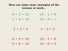 addition and subtraction inverse worksheet year 2 inverse