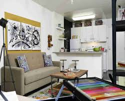 Apartment Living Room Office Combo Apartments Living Room Nice Apartment With Large Lcd Excerpt