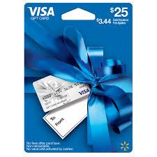 gift cards with no fees 25 walmart visa gift card walmart