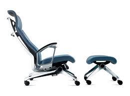 pied de fauteuil de bureau chaise longue contemporaine en tissu en métal dossier