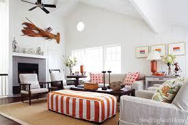 Inspirations On The Horizon Coastal Family Rooms - Coastal living family rooms