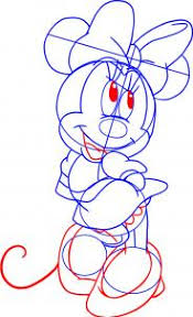 draw draw minnie mouse hellokids
