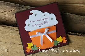 fall birthday invitations marialonghi com