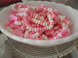 Pink And White Candy Buffet by Pink U0026 White Candy Buffet Candy Necklaces Candy Necklaces