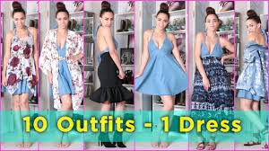 10 with 1 dress 10 ideas with 1 dress fall