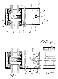 patent us6390718 t shaped connection frame between two frame