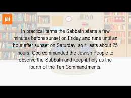 why is shabbat on friday youtube