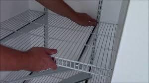 Closetmaid 12 Bracket Install Closetmaid Shelftrack In Depth Youtube