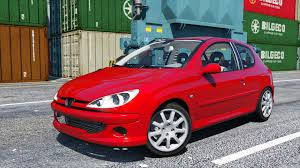 peugeot little car peugeot 206 gti gta5 mods com