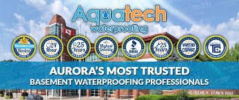 basement waterproofing aurora 416 300 2191 aquatech waterproofing