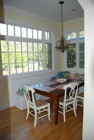 breakfast nook before and after kate collins interiors