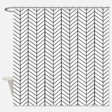 black and white shower curtains cafepress