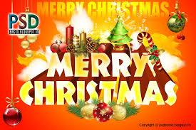 free christmas card psd christmas lights decoration