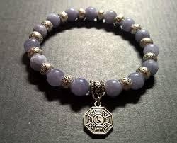 bracelet man images Mens aquamarine bracelet natural stone yin yang bracelet man jpg