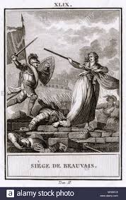 siege de siege of beauvais charles le temeraire duc de bourgogne tries to
