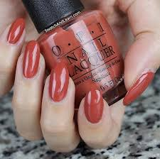 fall colors from opi nail polish gear up for the presidential
