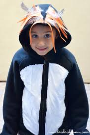 Penguin Costume Halloween Easy Diy Macaroni Penguin Costume Hoodie Hooded