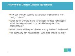 design criteria questions leland sandler organizational design amylin