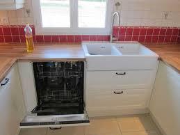cuisine au lave vaisselle meuble evier lave vaisselle ikea inspirations avec ikea cuisine lave