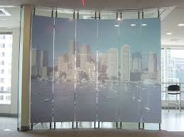operable partitions acousti clear acoustical glass wall systems