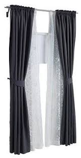 Window Curtain Double Rods Layered Curtains Outer Curtain To Help