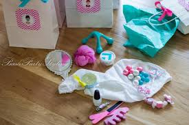Spa Favors by Spa Birthday In Ideas