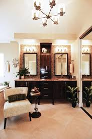 photos hgtv double vanity master bathroom with modern lighting