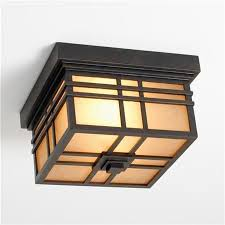 Craftsman Style Ceiling Light Lot 114 Frank Lloyd Wright Pair Of Exterior Light Fixtures From