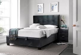 search results for leather ottoman storage bed double king size or