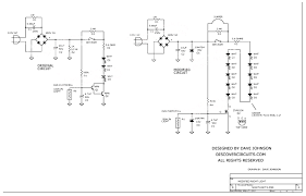 component led light schematic 12v emergency circuit modified night