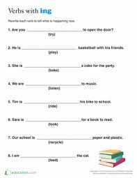present tense for kids worksheet education com