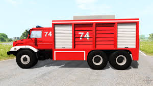 peugeot fire 6200 fire truck for beamng drive