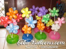 balloons table decorations party favors ideas