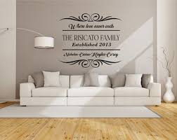 Pleasing  Living Room Decor Stickers Decorating Design Of Wall - Family room wall decals