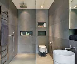 Modern Bathroom Tile Unique Modern Gray Bathroom Tiles With Small Home Remodel Ideas